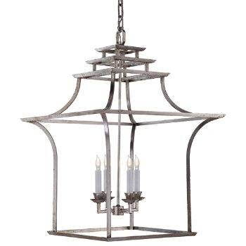 Brighton pagoda lantern pendant by visual comfort at for Andy singer visual comfort