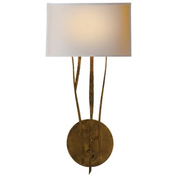 Aspen wall sconce by visual comfort at for Andy singer visual comfort