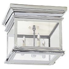 Club Square Flushmount Light