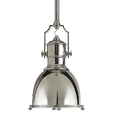 Country Industrial Pendant Light
