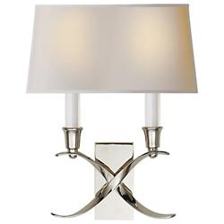 Cross Bouillotte Wall Sconce