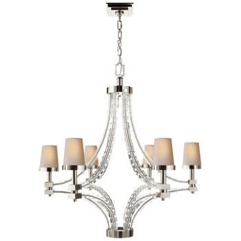 Shown in Polished Nickel finish