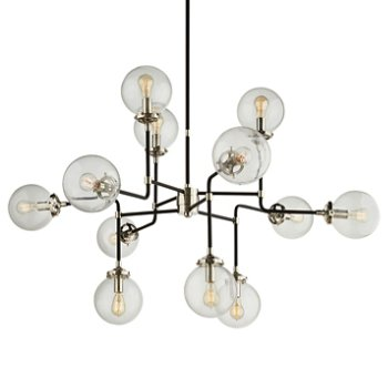 Bistro medium chandelier by visual comfort at for Andy singer visual comfort
