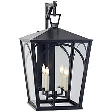 Darlana Arc Outdoor Wall Bracket Lantern