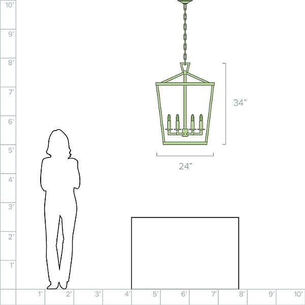 Darlana Lantern Pendant Light
