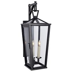 Darlana Tall Outdoor Wall Bracket Lantern