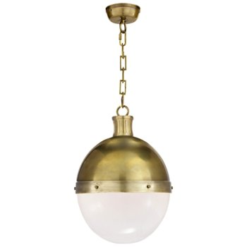 Shown in Hand-Rubbed Antique Brass finish, 22 inch