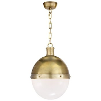 Shown in Hand-Rubbed Antique Brass finish, 18 inch size