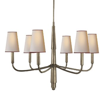 Farlane chandelier by visual comfort at for Andy singer visual comfort