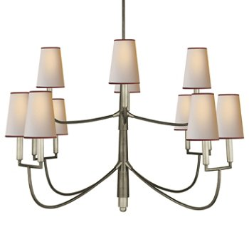 Farlane 2 tier chandelier by visual comfort at for Andy singer visual comfort
