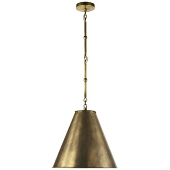 Shown in Hand-Rubbed Antique Brass/White Interior, Hand-Rubbed Antique Brass, Small