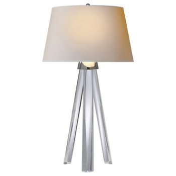 Veneto tripod table lamp by visual comfort at for Andy singer visual comfort