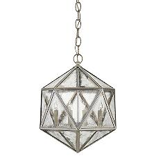 Zeno 18 Facet Hedron Pendant Light