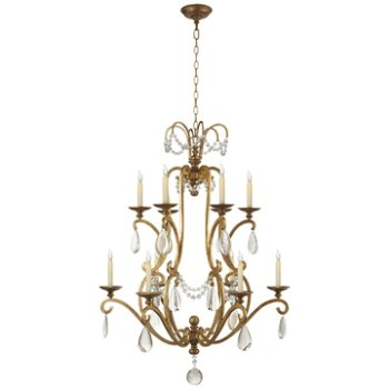 Shown in Gilded Iron finish