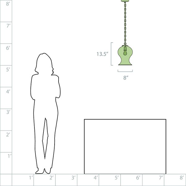 Katie Bell Jar Mini Pendant