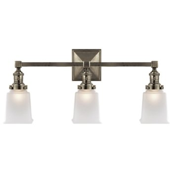 Shown in Antique Nickel finish, 3 Light