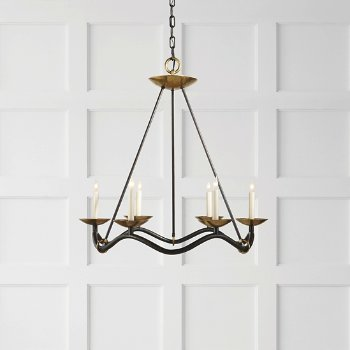 Shown in Aged Iron finish