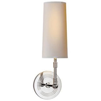 Ziyi wall sconce by visual comfort at for Andy singer visual comfort
