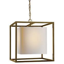 Caged Lantern Pendant (Bronze/Medium) - OPEN BOX RETURN