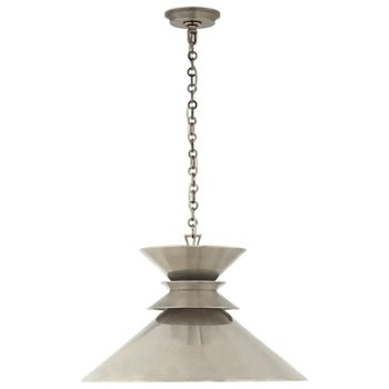 Shown in Antique Nickel with Antique Nickel Shade