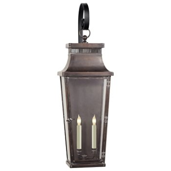 Emsworth Outdoor Scroll Arm Wall Sconce