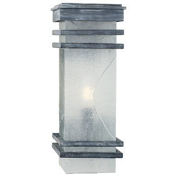 Mission Banded Outdoor Wall Sconce