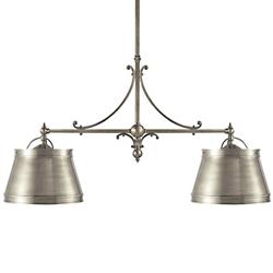 Sloane 2-Light Shop Linear Suspension