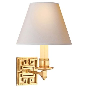 Shown in Natural Brass