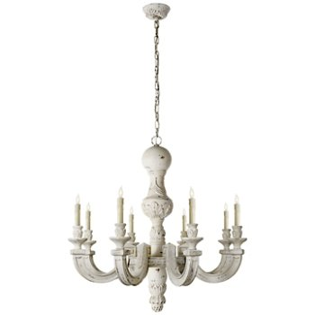 Shown in Belgian White finish, Large size