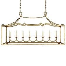 Fancy Darlana 8-Light Linear Chandelier