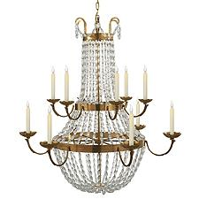 Paris Flea Market 2-Tier Chandelier