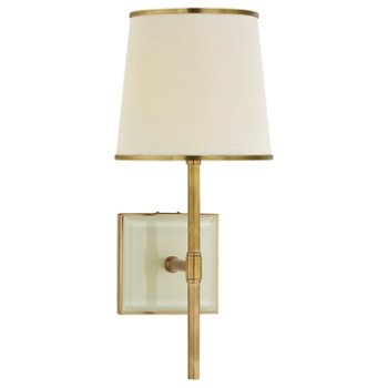 Shown in Soft Brass and Cream finish