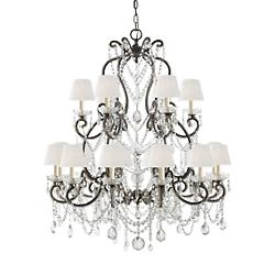 Adrianna 2-Tier Chandelier