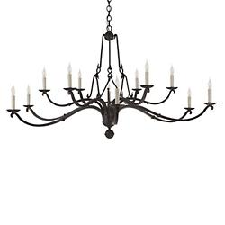 Allegra 2-Tier Chandelier
