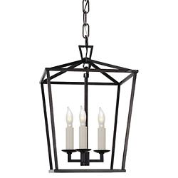 Darlana Mini Lantern Pendant (Aged Iron) - OPEN BOX RETURN