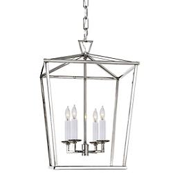 Darlana Lantern Pendant (Polished Nickel/S)-OPEN BOX RETURN