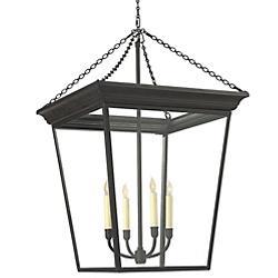 Cornice Hanging Pendant (Rust/Large) - OPEN BOX RETURN