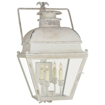 Shown in Old White finish, Small SIze