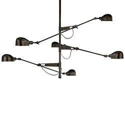 RL 67 Triple Arm Chandelier