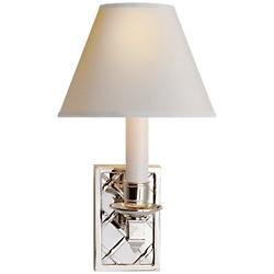 Gene Library Wall Sconce (Polished Nickel) - OPEN BOX RETURN