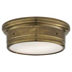 Siena Flushmount (Antique Brass/Large) - OPEN BOX RETURN
