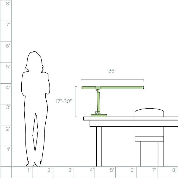 Barrett Arm LED Desk Light