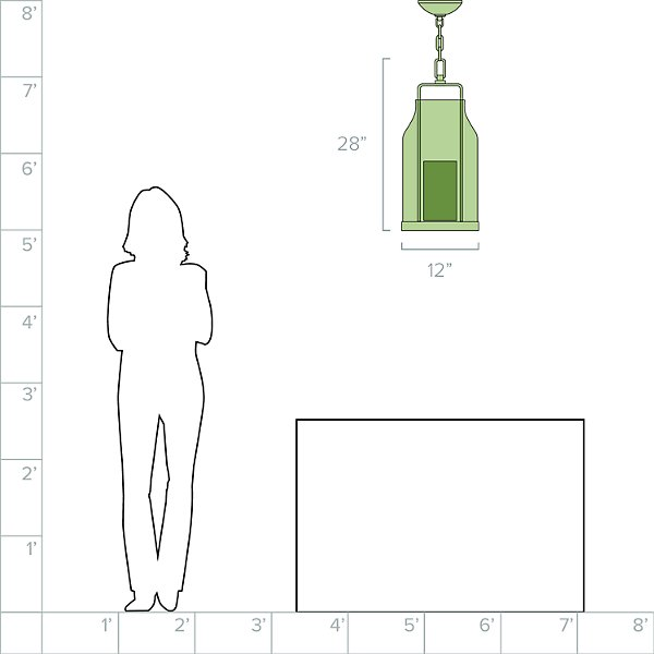 Ollie LED Outdoor Pendant