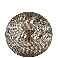 Flow 6-Light Orb Chandelier
