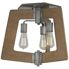Lofty Semi-Flushmount Light