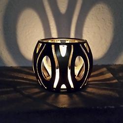 Masquerade Candleholder