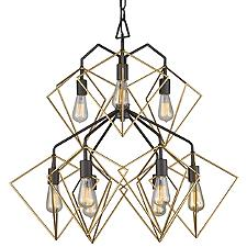 Metropolis 9-Light Pendant