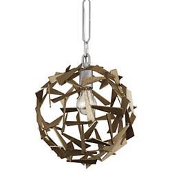 Bermuda 1-Light Orb Pendant