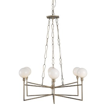 Bodie LED Chandelier with Opal White Glass
