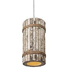 Woody 1-Light Tall Pendant